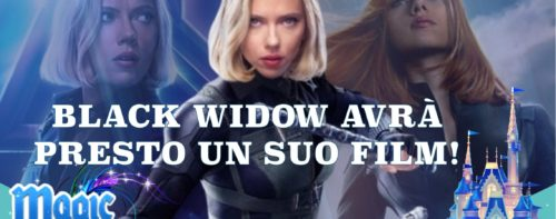 Black Widow avrà presto un suo film!