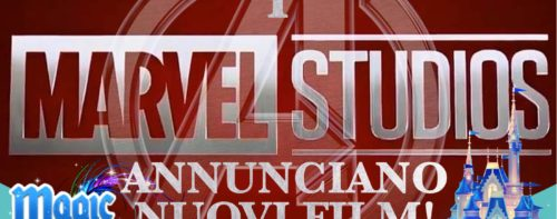 I Marvel Studios annunciano nuovi film!