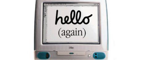 7 maggio 1998: Benvenuto iMac