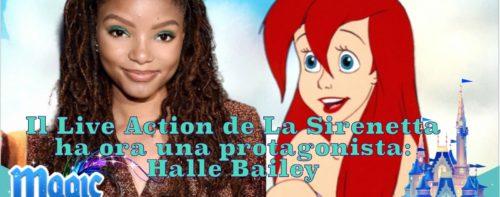 Il Live Action de La Sirenetta ha ora una protagonista: Halle Bailey