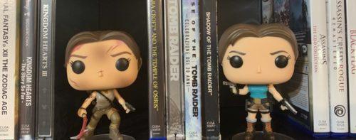Funko Pop di Lara Croft: il magnifico duo!