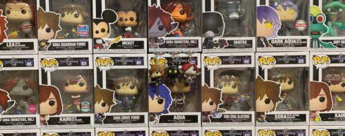 I Funko Pop di Kingdom Hearts 3: finalmente la collezione è completa!